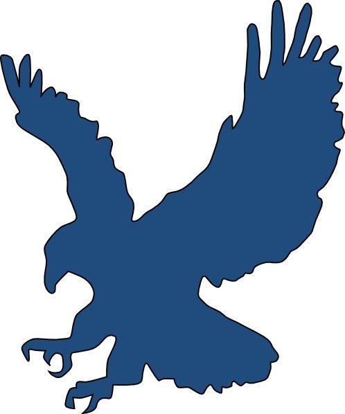 Free clipart for logo svg transparent stock Eagle Company Logo | Blue Eagle clip art - vector clip art online ... svg transparent stock