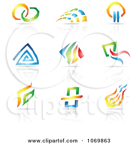 Free clipart for logo vector black and white stock Royalty-Free (RF) Logo Clipart, Illustrations, Vector Graphics #1 vector black and white stock
