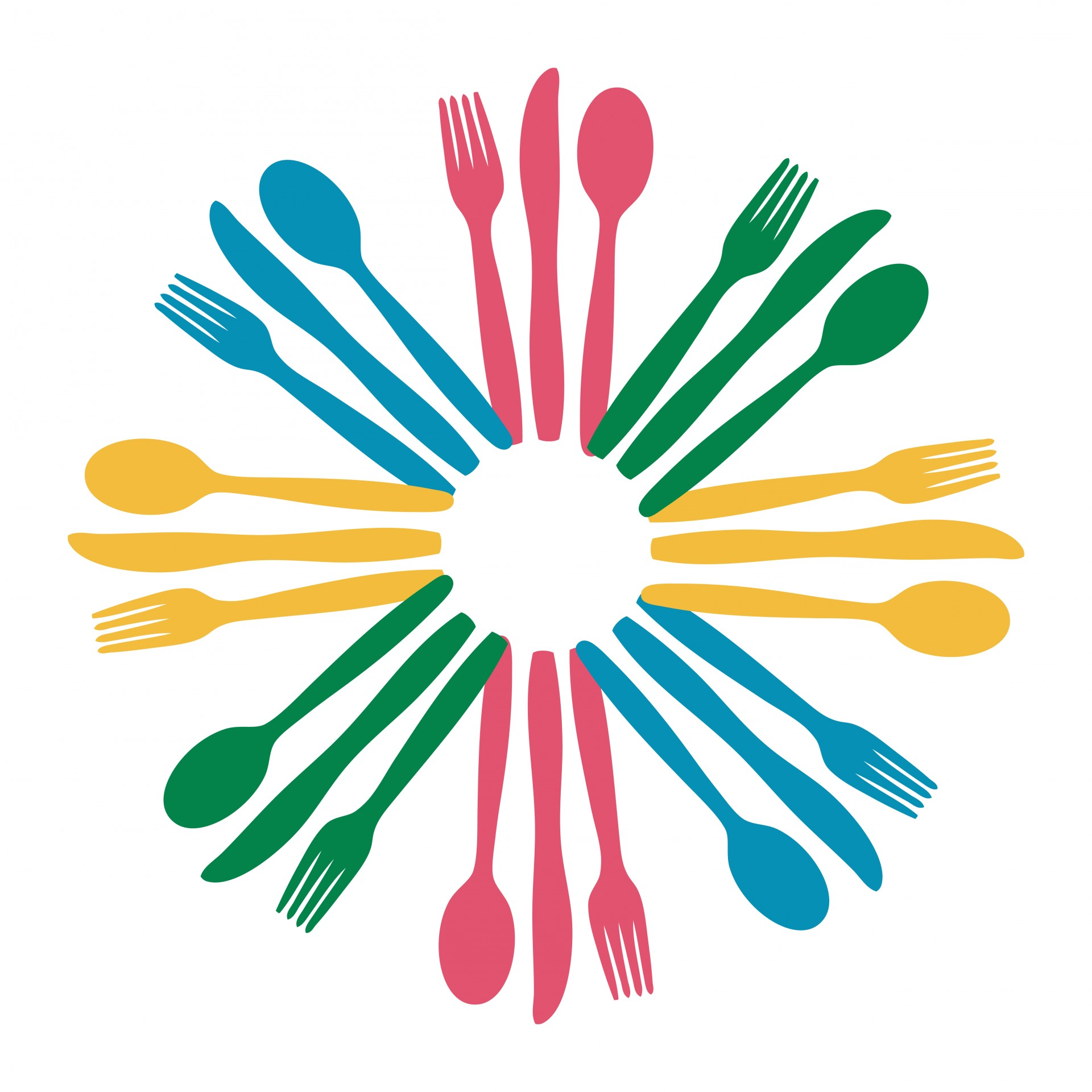 Free clipart for logo banner transparent download Colorful Cutlery Logo Clipart Free Stock Photo - Public Domain ... banner transparent download