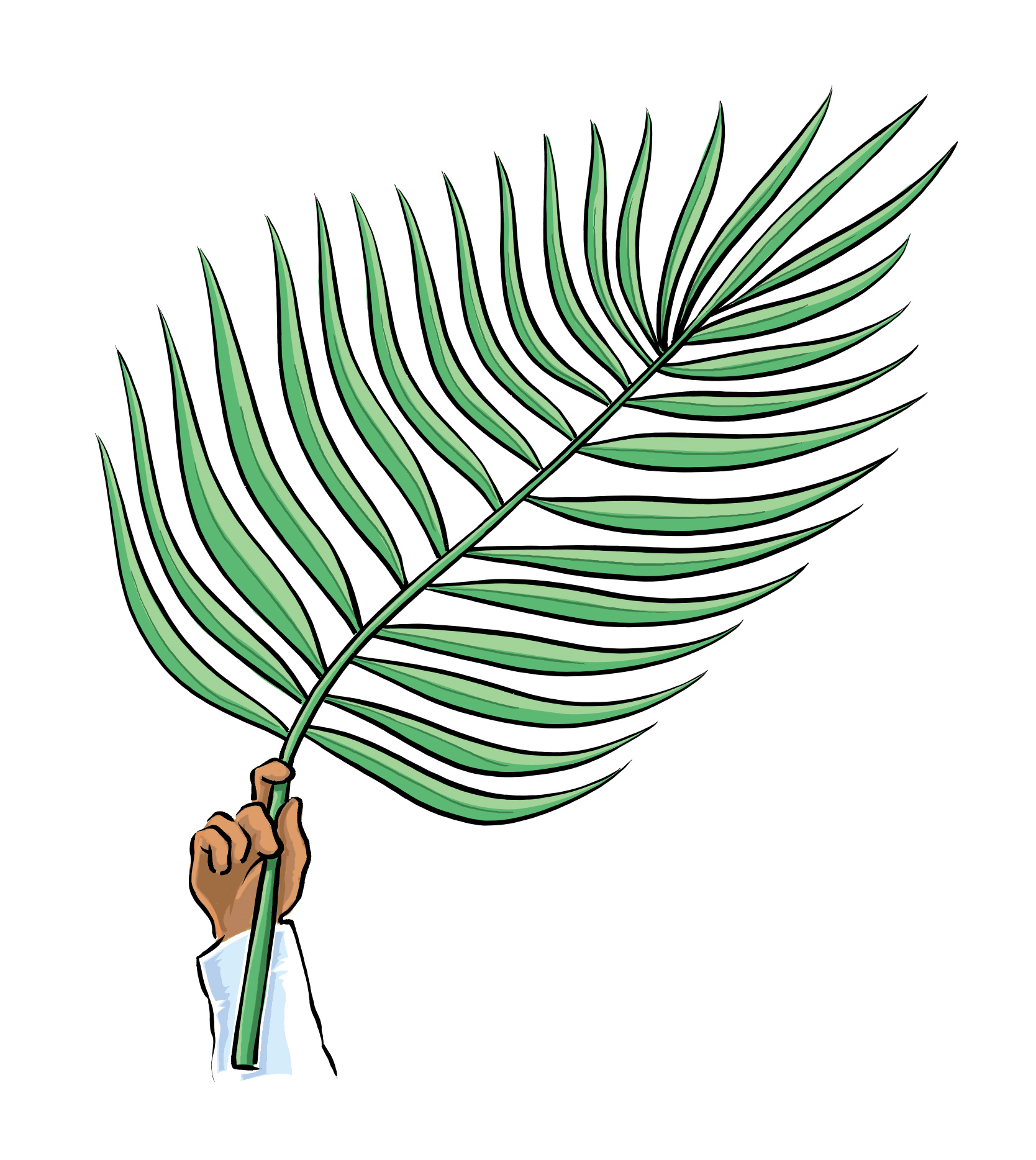 Free clipart for palm sunday png black and white stock Palm Sunday Clip Art Images | Clipart Panda - Free Clipart Images png black and white stock