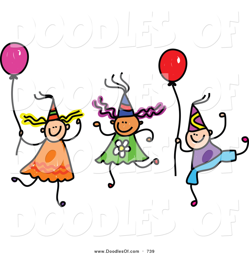 Free party clipart clipart transparent stock Kids Party Clipart | Free download best Kids Party Clipart on ... clipart transparent stock