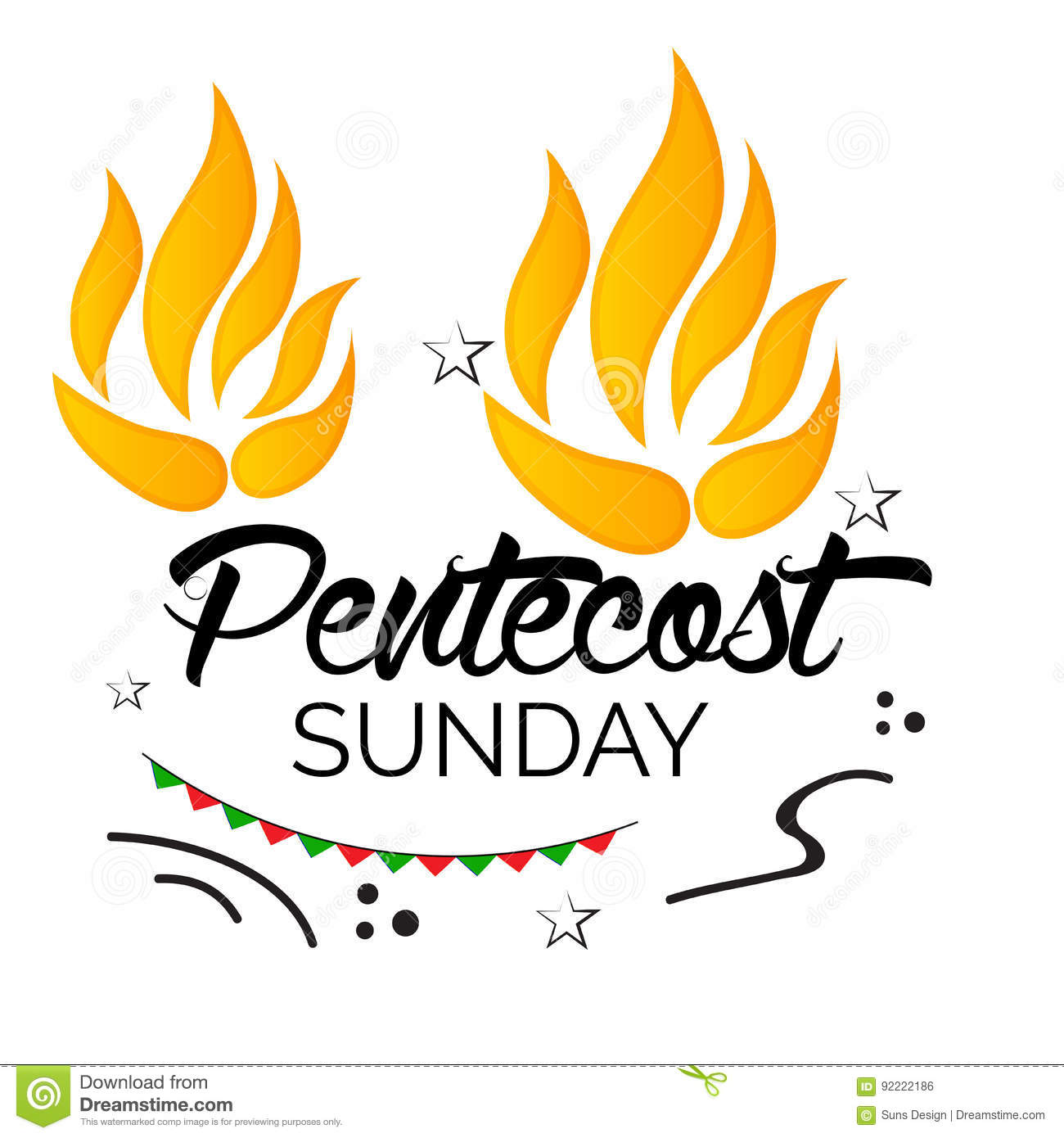 Station . Free clipart for pentecost sunday