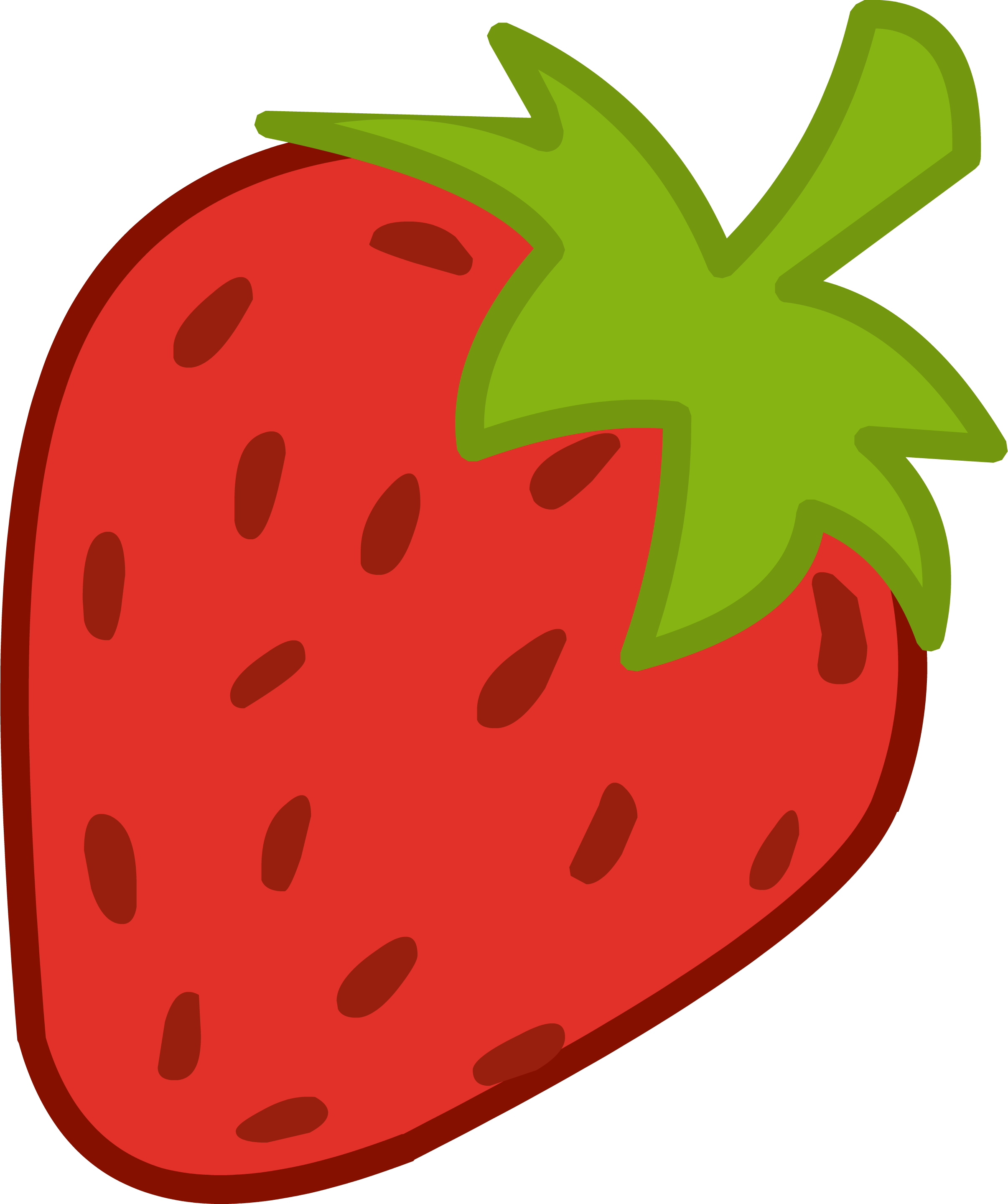 Strawberry heart clipart vector black and white library strawberry-shortcake-clipart-free-clip-art-images.png 2,412×2,880 ... vector black and white library
