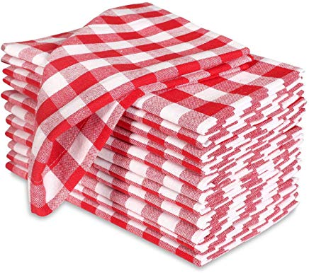 Free clipart for red and white napkins svg black and white download Amazon.com: Red - Cloth Napkins / Kitchen & Table Linens: Home & Kitchen svg black and white download