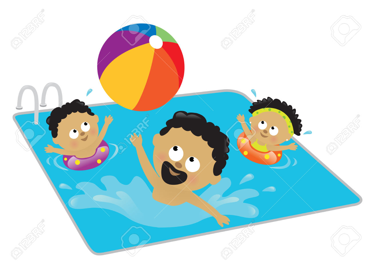 Free clipart for swimming svg black and white library Free Clipart Swimming | Free download best Free Clipart Swimming on ... svg black and white library