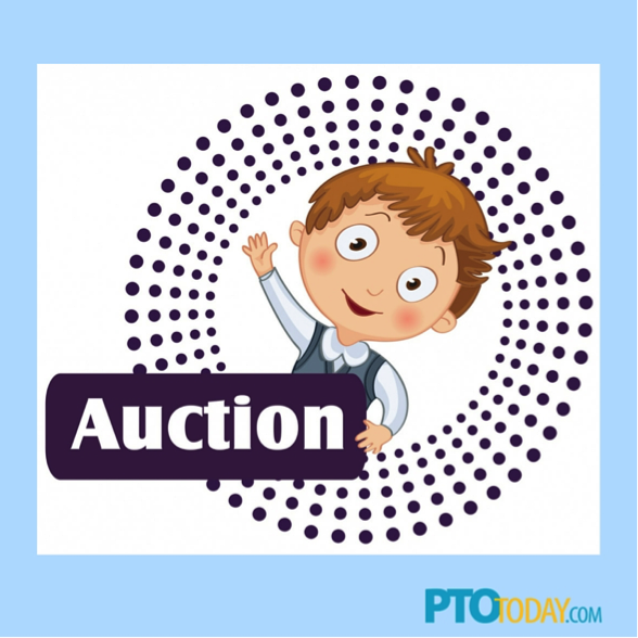 Free clipart for teachers and school auctions banner library Last-Minute Tips for Spring Auctions - PTO Today banner library