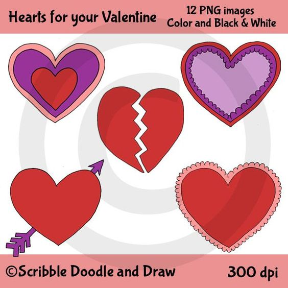 Free clipart for teachers for commercial use stock Free clip art. Valentine's day hearts. For personal and commercial ... stock