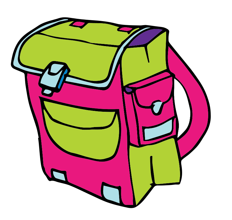 School bags clipart clipart transparent download This cartoon school backpack clip art has been released to the ... clipart transparent download