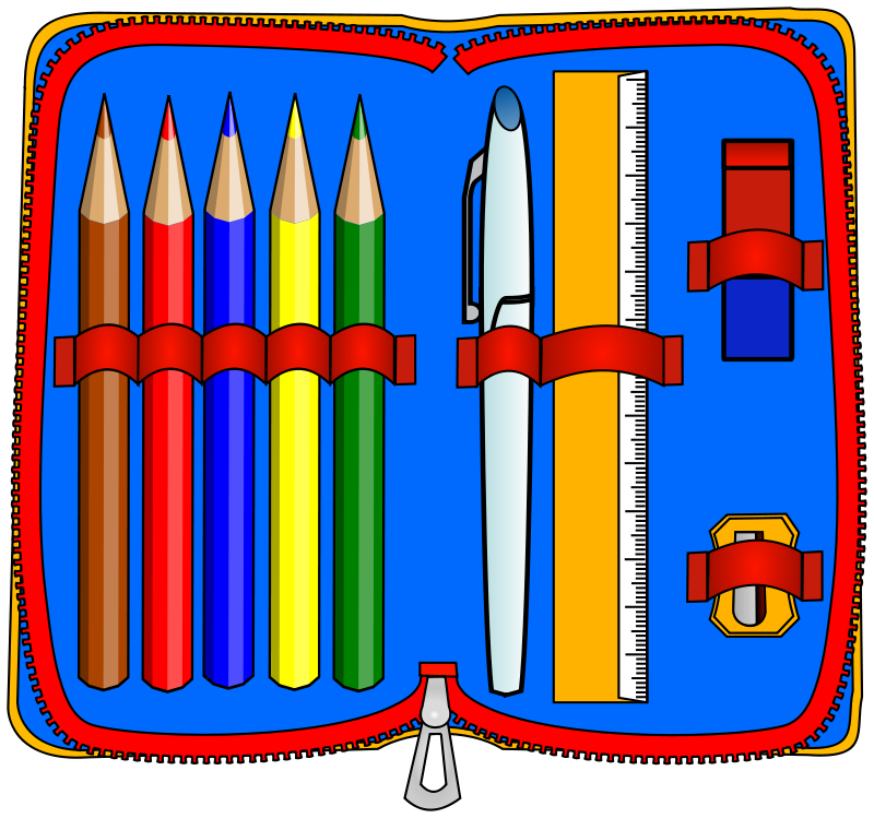 Free clipart for teachers pen and pencil holders png transparent Free clip art \