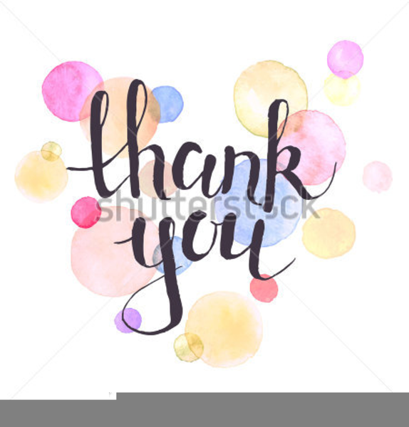 Free clipart for thank you. Thankyou images at clker