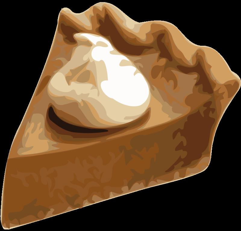 Free clipart for thanksgiving pumpkin pie contest vector freeuse download Clipart - Pumpkin Pie Slice vector freeuse download