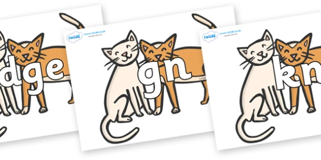 Free clipart for the letter t with cats jpg library FREE! - Silent Letters on Cats - Silent Letters, silent letter ... jpg library