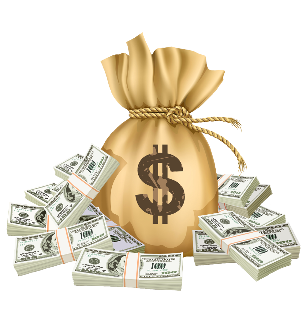 Free clipart for the love of money clip art freeuse Money Bag PNG Clipart Picture | Gallery Yopriceville - High-Quality ... clip art freeuse