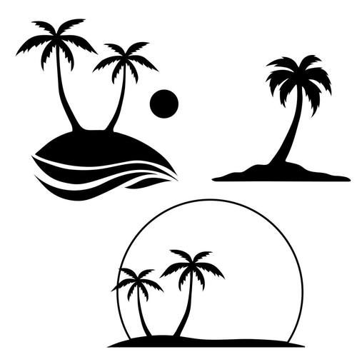 Life is good palm trees and sunset clipart graphic royalty free stock Free Palm Tree SVG Cut File | Cricut- SVG | Tree svg, Svg cuts, Palm ... graphic royalty free stock