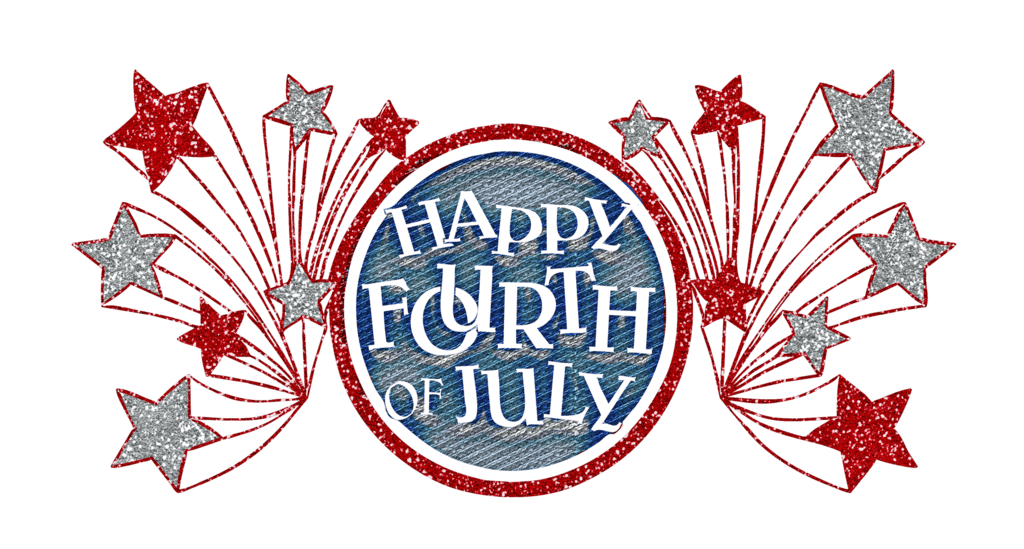 Free clipart fourth of july quotes clipart freeuse download Happy Fourth Of July Glitter Banner | 4th Of July | Happy fourth of ... clipart freeuse download