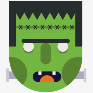 Free clipart frankenstein monster image royalty free library Cute Frankenstein Monster Character Icon - Sight Word #878118 - Free ... image royalty free library