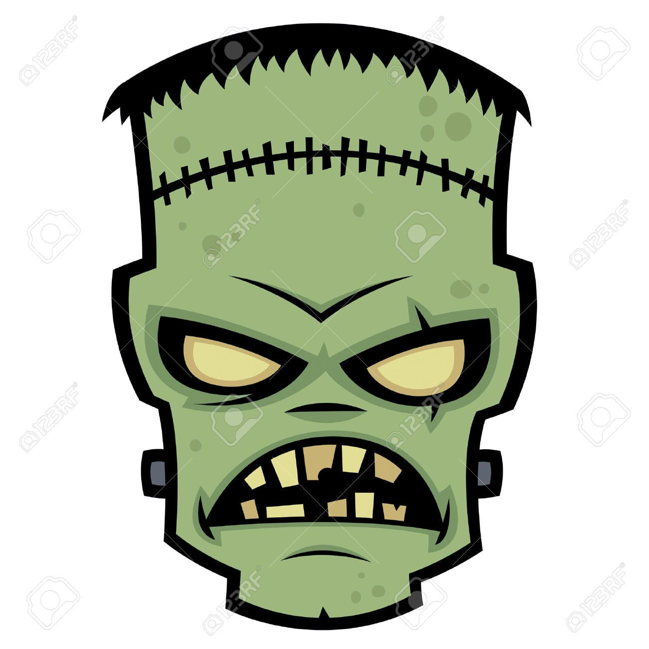 Free clipart frankenstein monster vector transparent stock Frankenstein Stock Vector Illustration And Royalty Free ... | Ghosts ... vector transparent stock