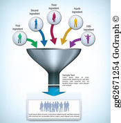 Free clipart funnel clip art freeuse Funnel Clip Art - Royalty Free - GoGraph clip art freeuse