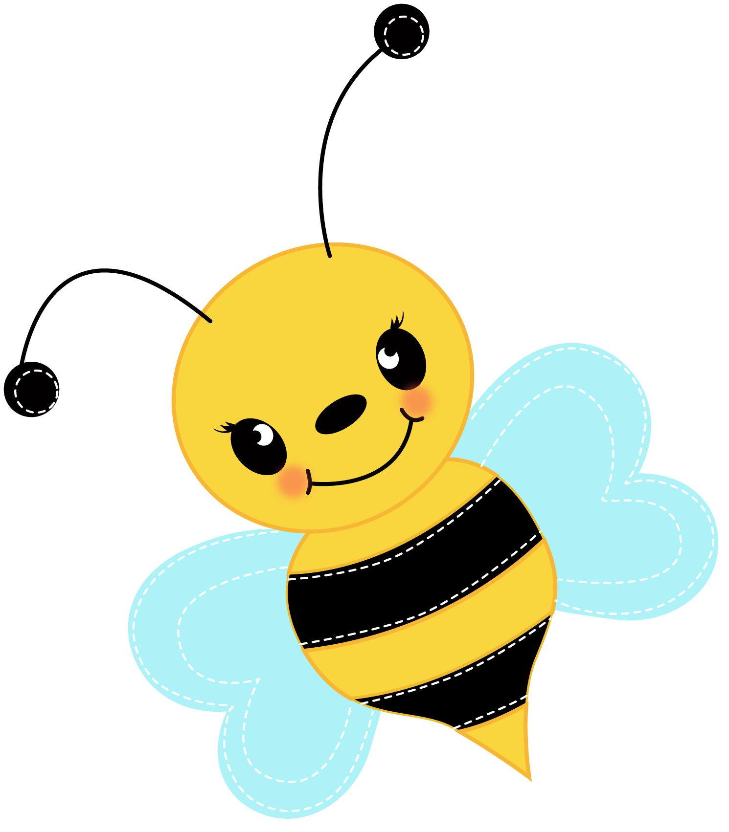 Free clipart gallery busy bee banner transparent Bumble bee busy bee clipart free clipart images clipartix - Clipartix banner transparent