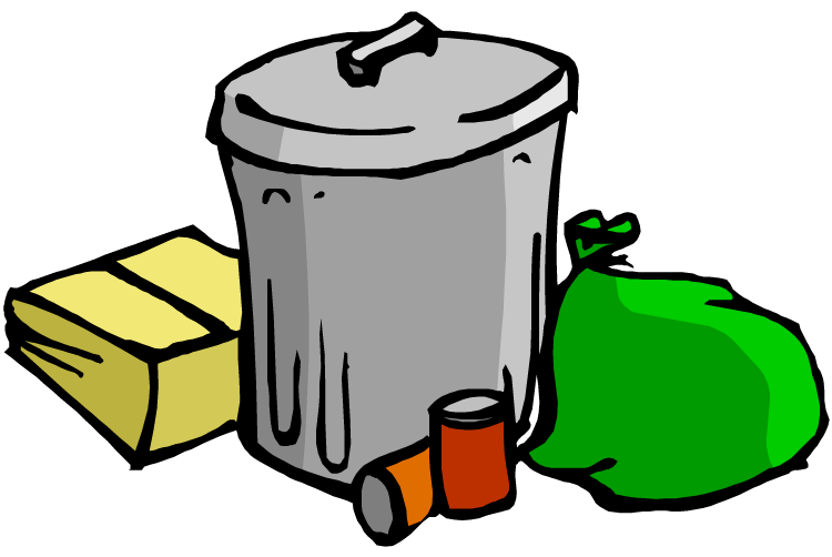 Free clipart garbage. Trash bag cliparts download