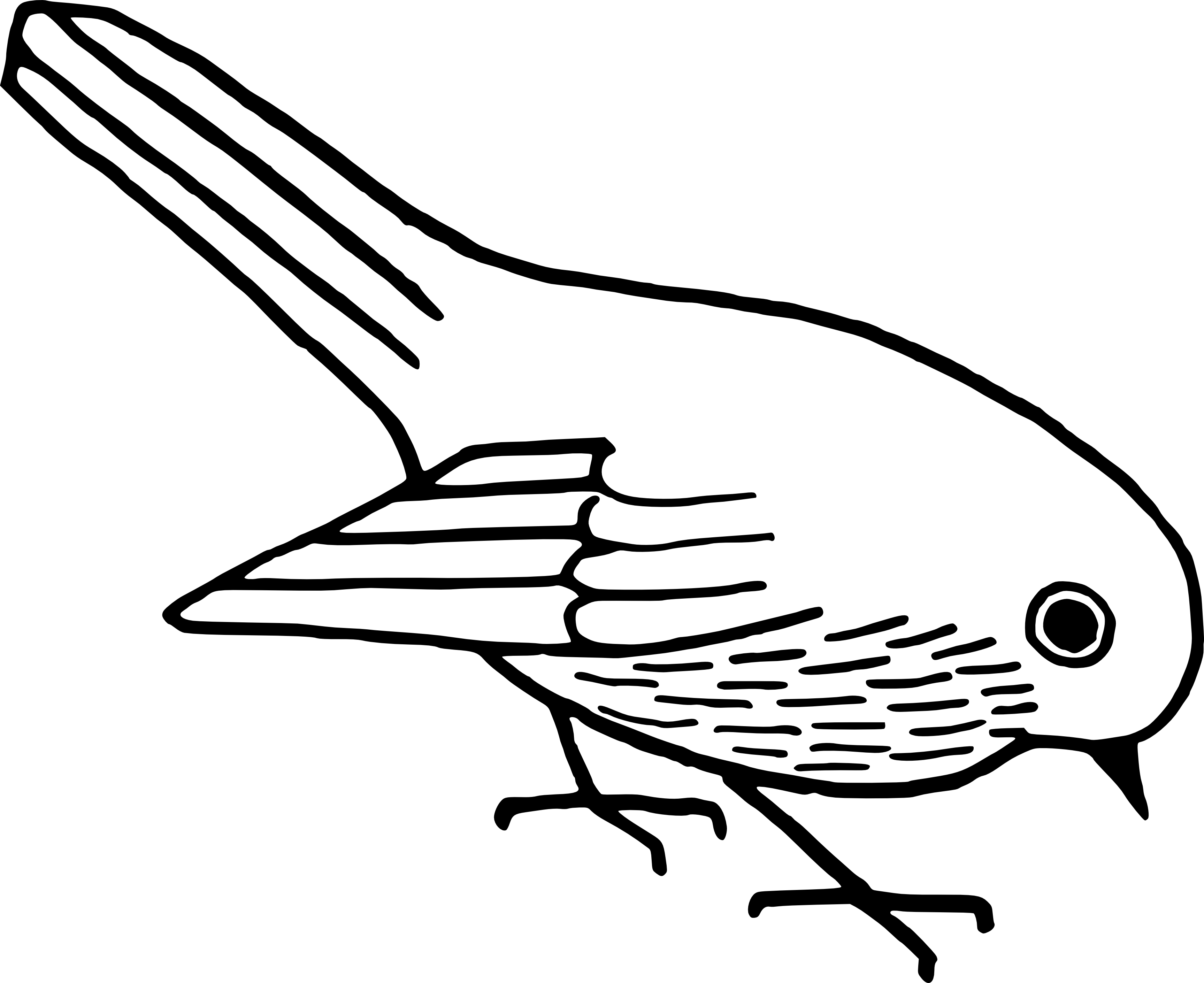 Free clipart generic bird images black and white. Collection of department download