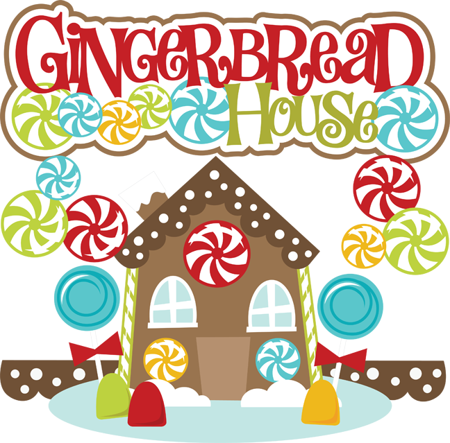 Gingerbread house clipart free graphic black and white library Free Gingerbread House Cliparts, Download Free Clip Art, Free Clip ... graphic black and white library