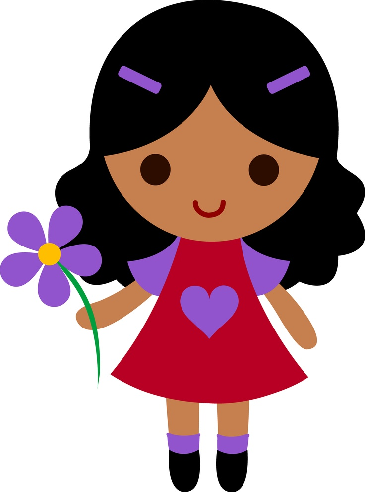Clipart picture of a girl black and white stock Free Girl Cliparts, Download Free Clip Art, Free Clip Art on Clipart ... black and white stock