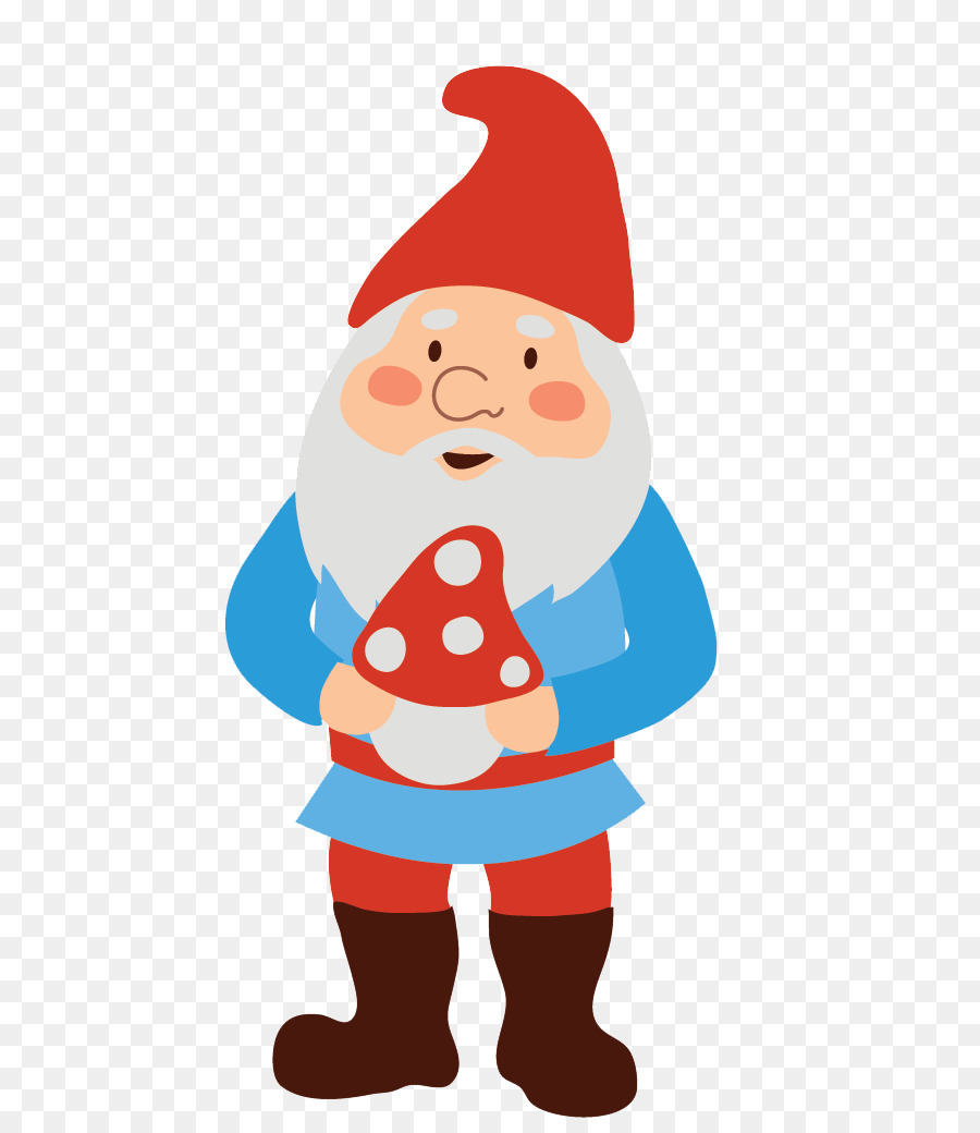 Gnomes clipart clip black and white library Christmas Decoration Drawing png download - 700*1026 - Free ... clip black and white library