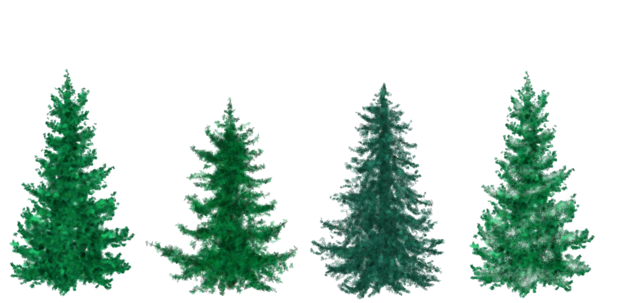 Christmas tree forest clipart clipart free library Free clipart google tree - ClipartFest clipart free library