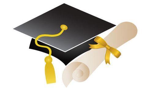 Free clipart graduation cap and diploma clip free stock Free Graduation Cap and Diploma Vector Art | Clip art | Graduation ... clip free stock