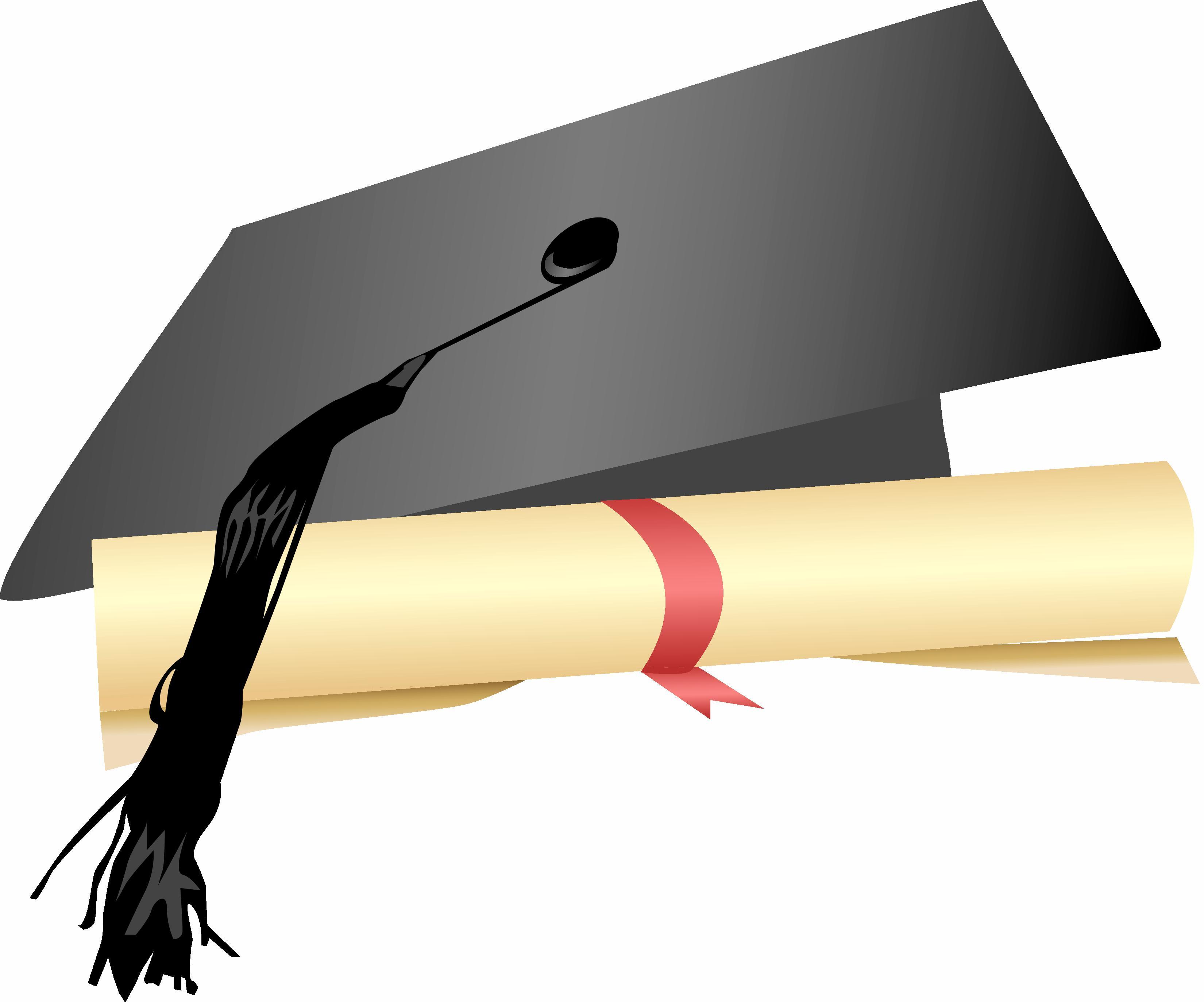Free clipart graduation cap and diploma clip free Free Graduation Cap And Diploma Clipart, Download Free Clip Art ... clip free