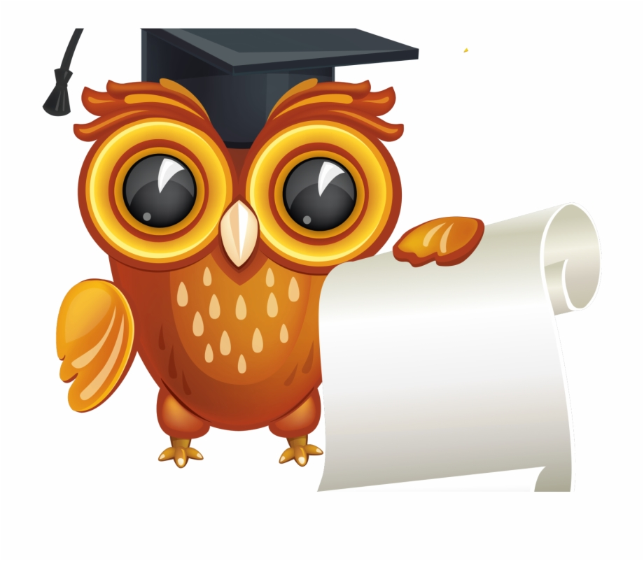 Free clipart graduation owl image royalty free Graduation Owl Vector Png Free PNG Images & Clipart Download #740504 ... image royalty free