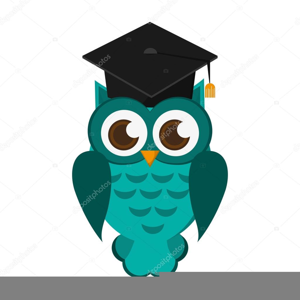 Free graduation owl clipart png free library Clipart Of Owl With Graduation Cap | Free Images at Clker.com ... png free library