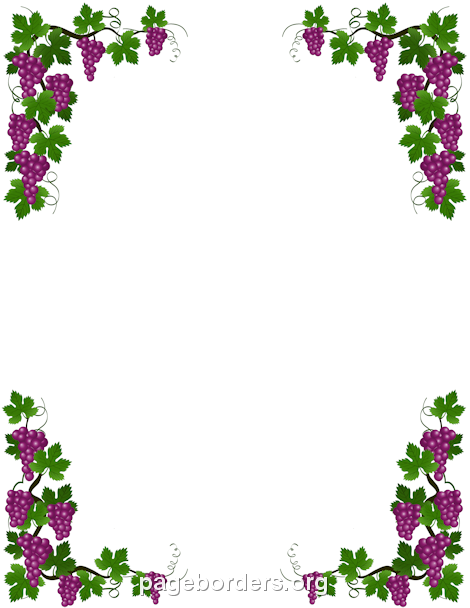 Free grapevine clipart borders png free library Pin by Muse Printables on Page Borders and Border Clip Art | Vine ... png free library