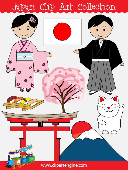 Free clipart graphics for commercial use graphic transparent download Japan Clip Art Collection for Personal and Commercial Use graphic transparent download