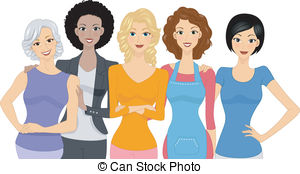 Free clipart graphics woman clip art black and white Women Illustrations and Clip Art. 583,693 Women royalty free ... clip art black and white