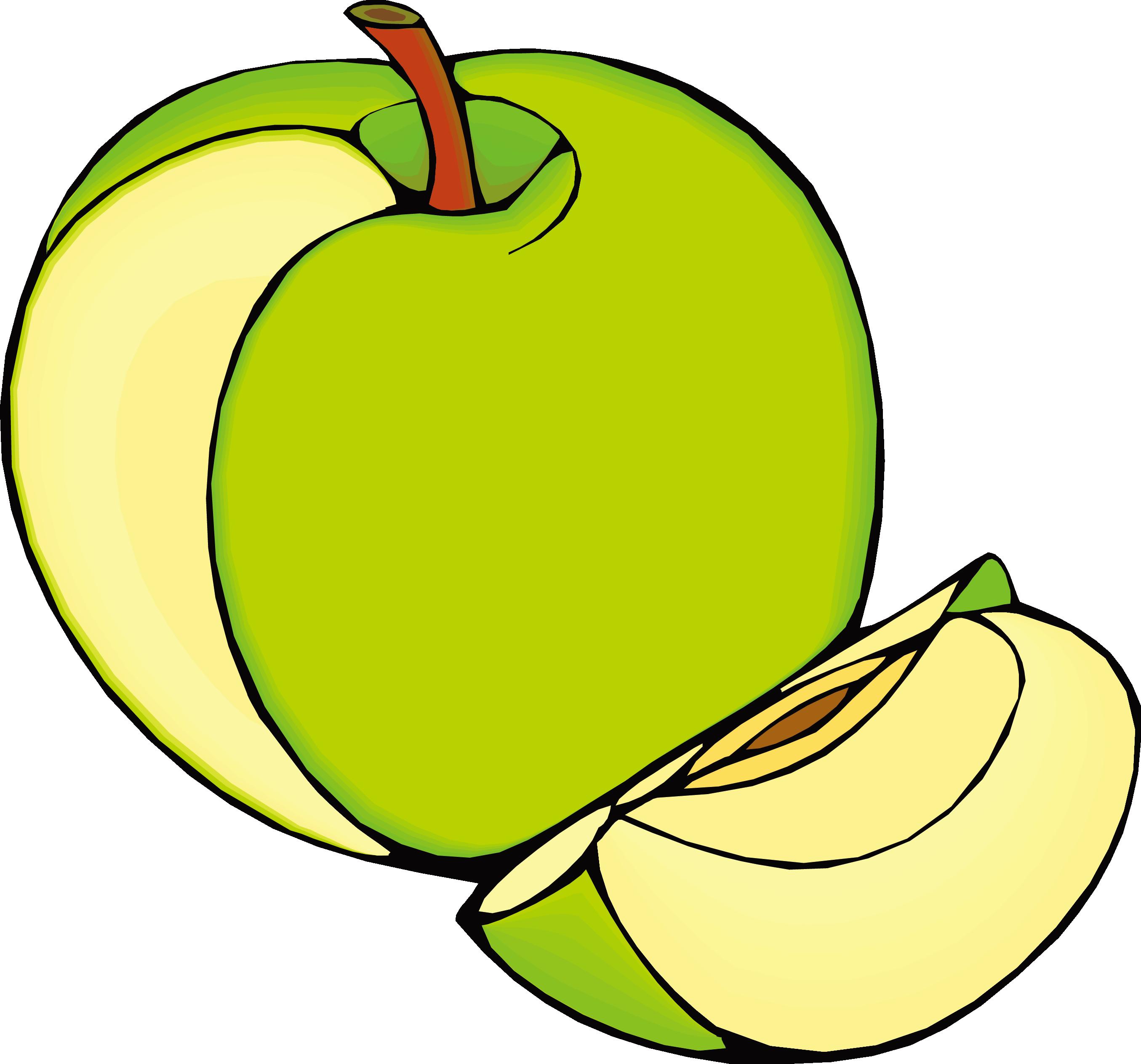 Free clipart green apple image freeuse Fruits et lxe9gumes Vegetable Clip art - Green Apple 2710*2527 ... image freeuse