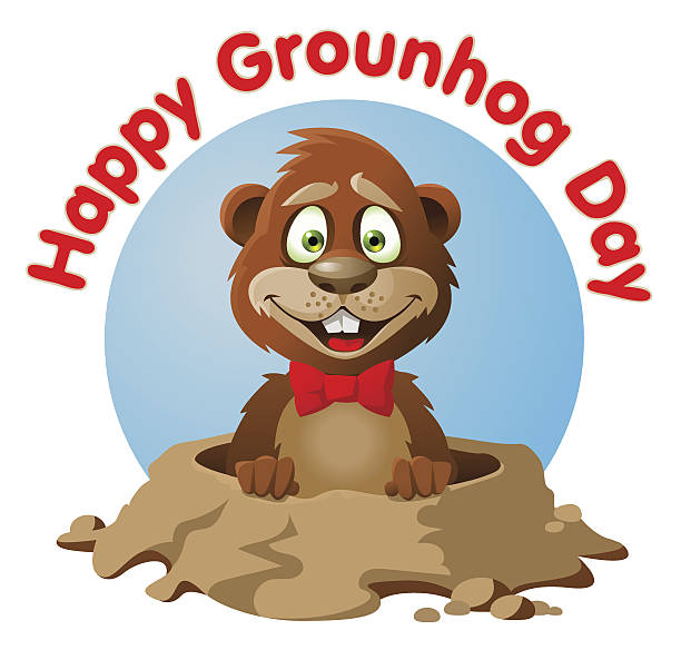 Free clipart groundhog day clip transparent stock Top 60 Groundhog Day Clip Art Vector Graphics And Illustrations ... clip transparent stock