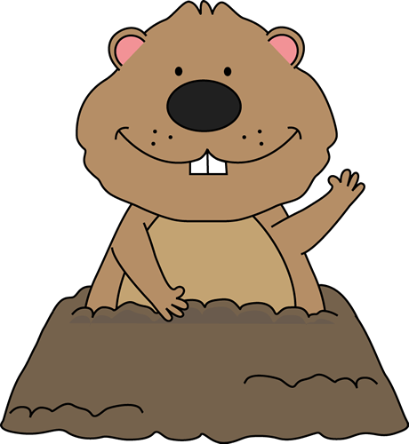 Free clipart groundhog day clip art library stock Groundhog Day Activities (shadow experiments, books, craft, puppet ... clip art library stock