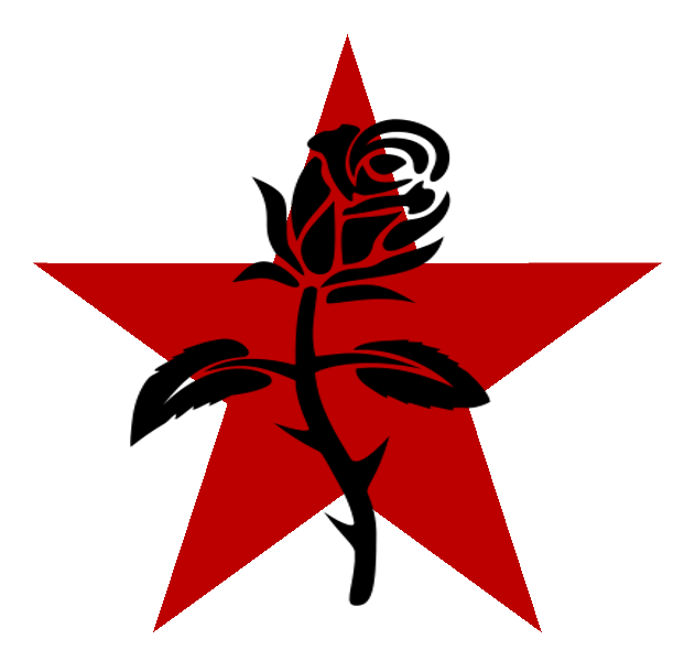 Free clipart grunge red star picture freeuse stock Black Rose and Red star by The-Laughing-Rabbit on DeviantArt picture freeuse stock