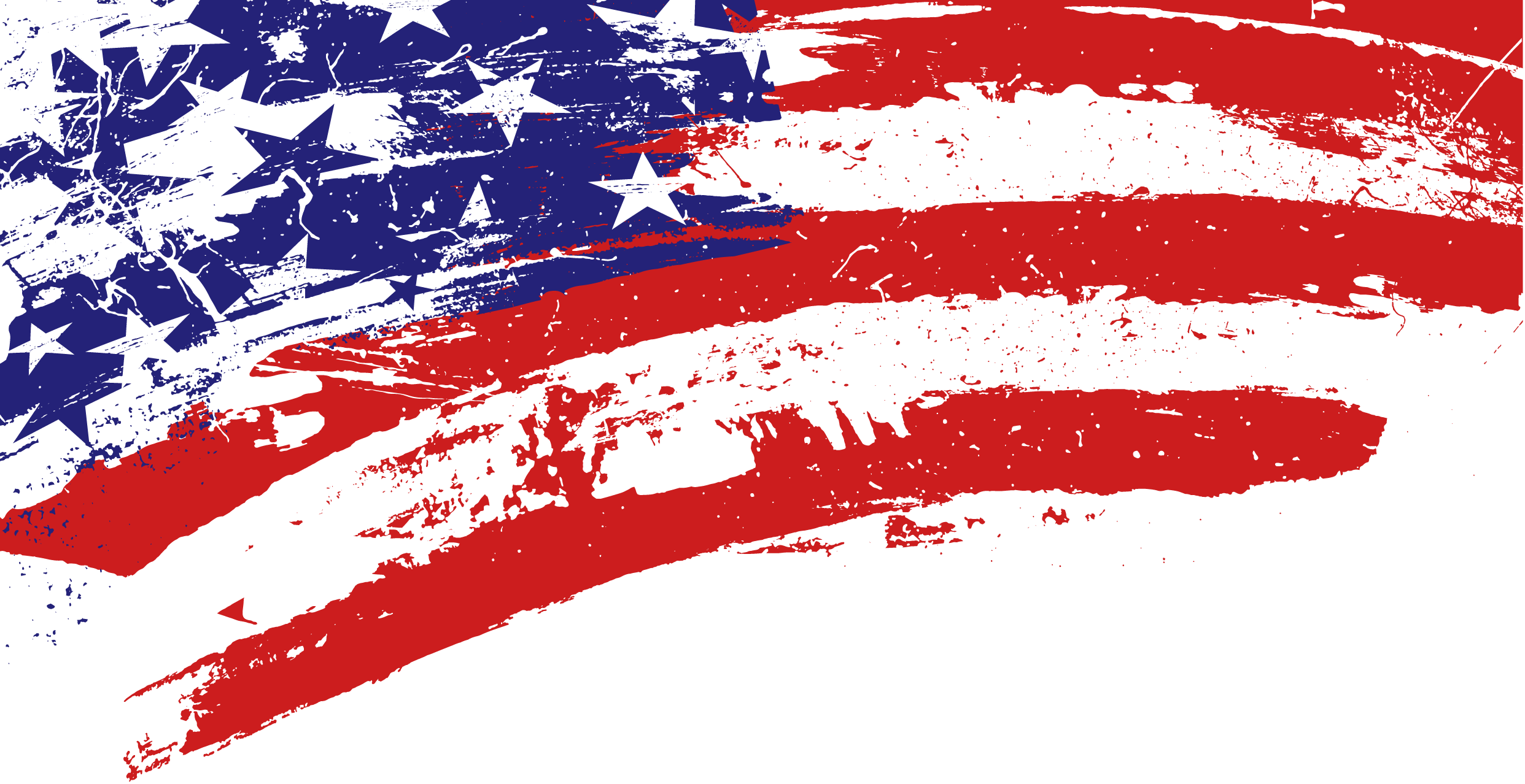 Free clipart grunge red star clip freeuse stock Grunge Us Flag Banner transparent PNG - StickPNG clip freeuse stock