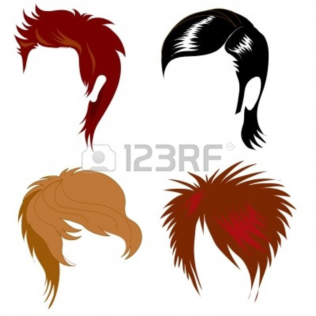 Free clipart hair styles svg transparent download Hair Cut Clipart | Free download best Hair Cut Clipart on ClipArtMag.com svg transparent download