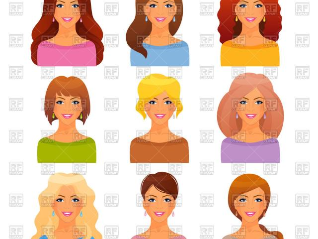 Free clipart hair styles png transparent download Free Hairstyles Clipart, Download Free Clip Art on Owips.com png transparent download