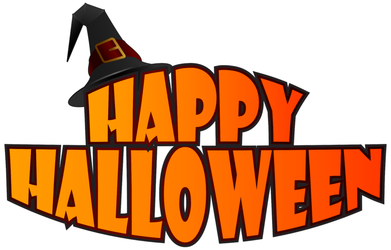 Free clipart halloween banner picture freeuse download Free Printable happy halloween banner clipart template png images ... picture freeuse download