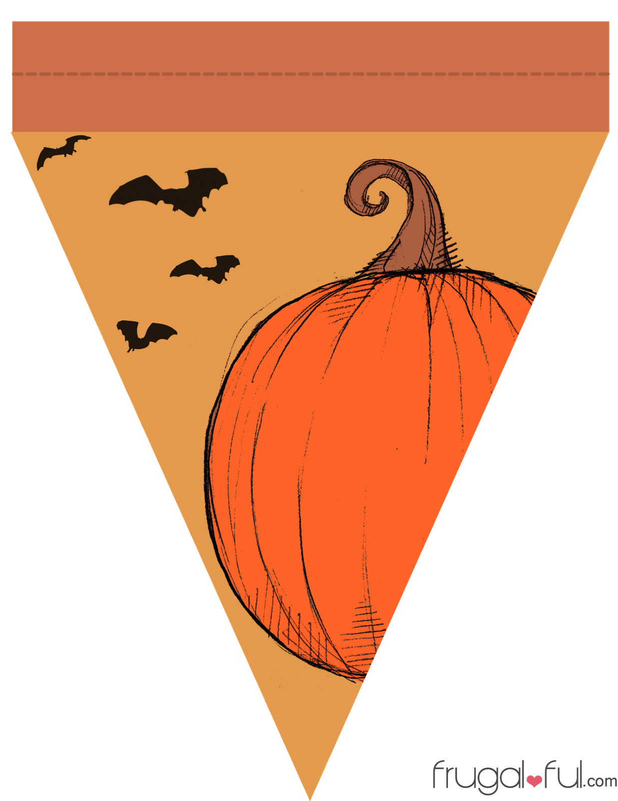 Free clipart halloween bunting graphic transparent library free printable banner patterns | DIY} Free Printable Halloween ... graphic transparent library