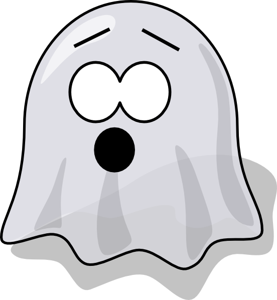 Free clipart halloween ghost and boo vector black and white library Ghost Outline Clipart | Free download best Ghost Outline Clipart on ... vector black and white library