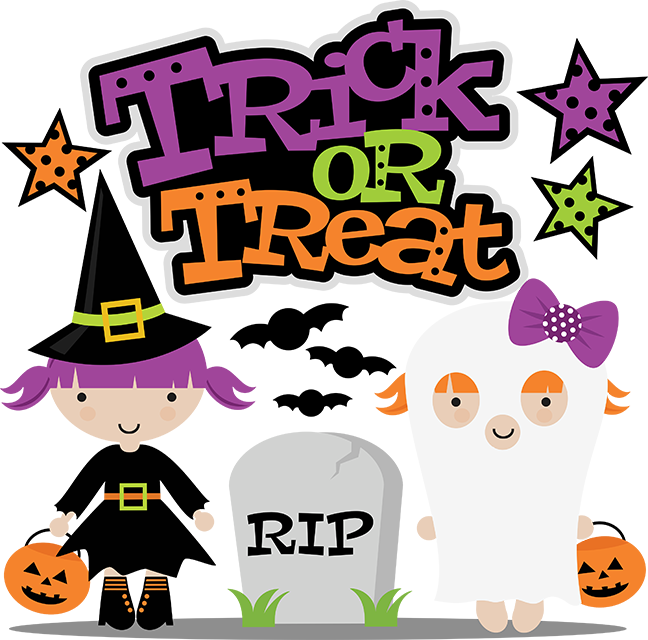Trick Or Treat SVG cut file for scrapbooking witch svg file free ... clipart library stock