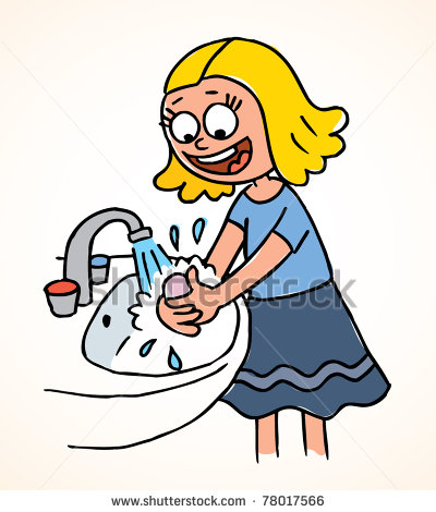 Free clipart hand washing svg free library Clip art hand washing - ClipartFest svg free library