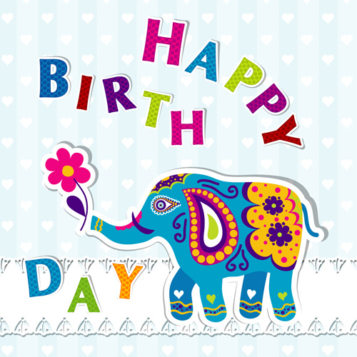 Free clipart happy birthday indians baseball happy birthday png freeuse Happy Birthday Elephant — Lovely Meme png freeuse