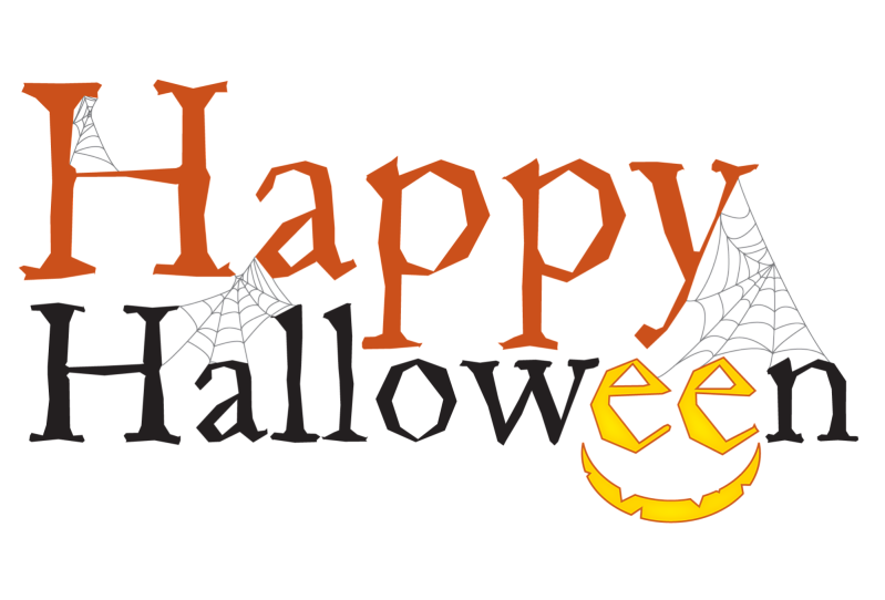 Happy halloween word clipart picture free stock Happy Halloween text transparent background - Free stock photos ... picture free stock